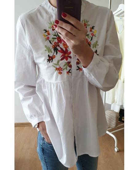 Koszula FOLK WHITE