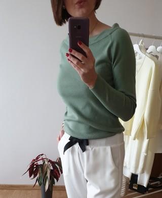 Sweter LEMONADA PISTACJA