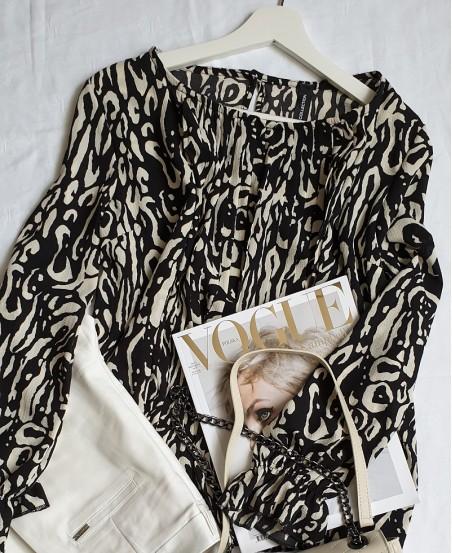 Bluzka Black & White