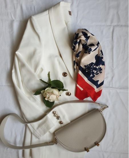 Marynarka ELEGANCE biała