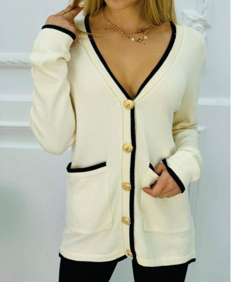 Sweter DeMimoore Crem