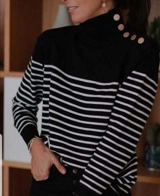 Sweter  BlackWhite