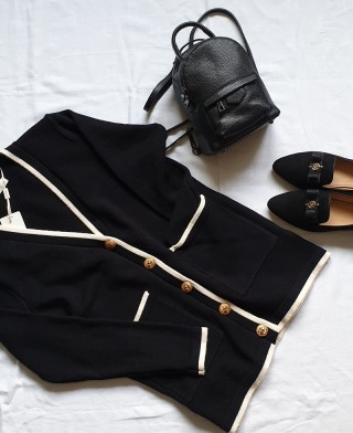 Sweter DeMimoore Black