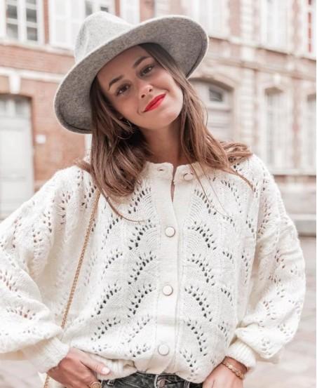 Sweter PRIMA WHITE