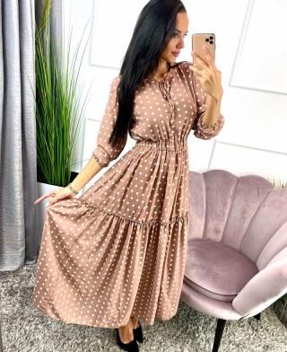 Sukienka w grochy ROSE